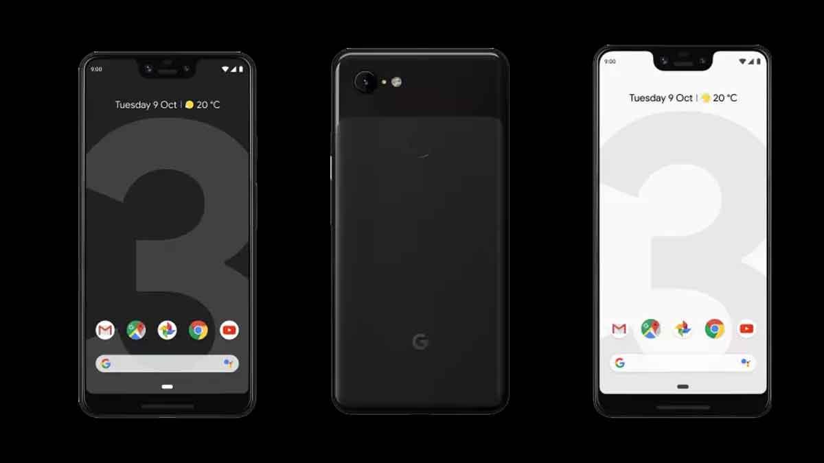 Google Pixel 3Xl launched