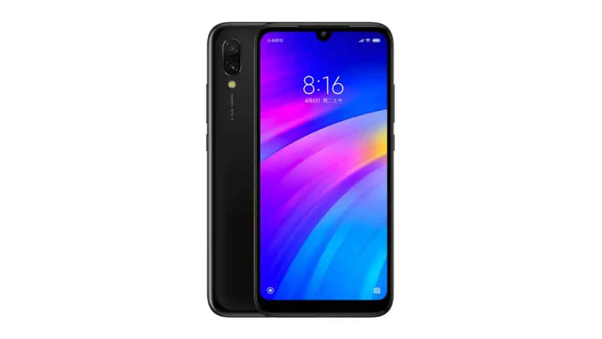 Redmi 7 launched