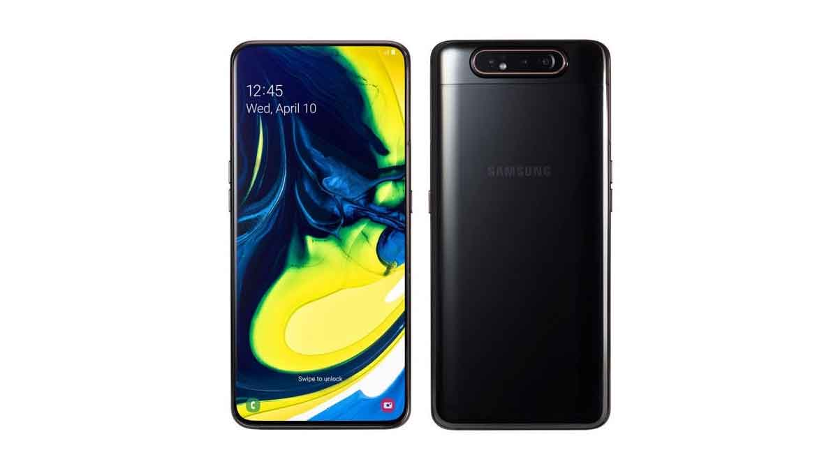Galaxy A80 launched