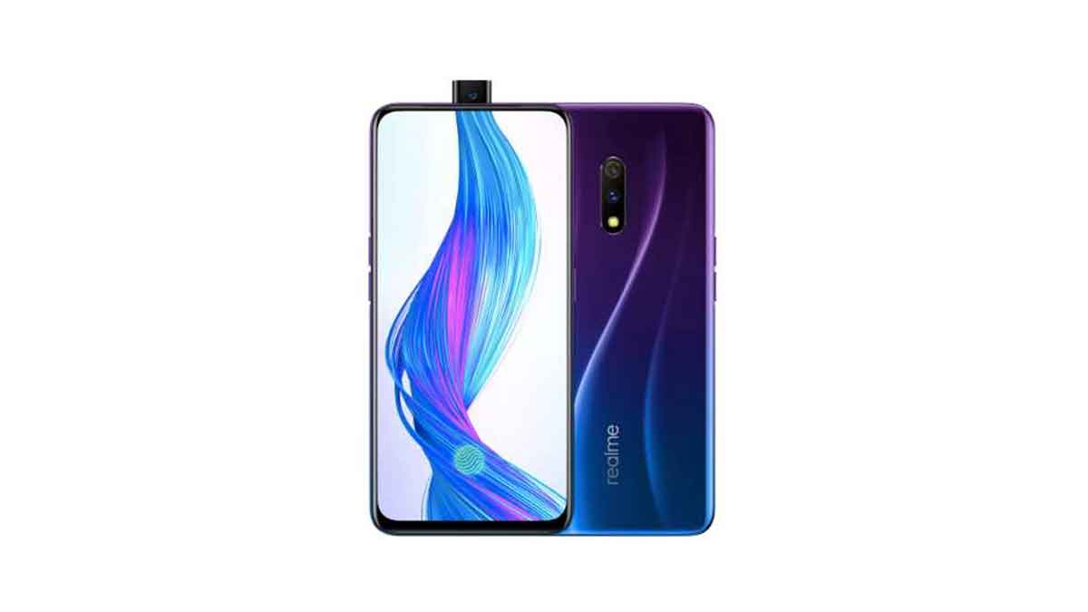 RealMe X launched