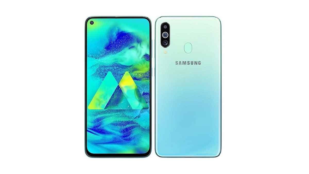 Galaxy M40 leaked