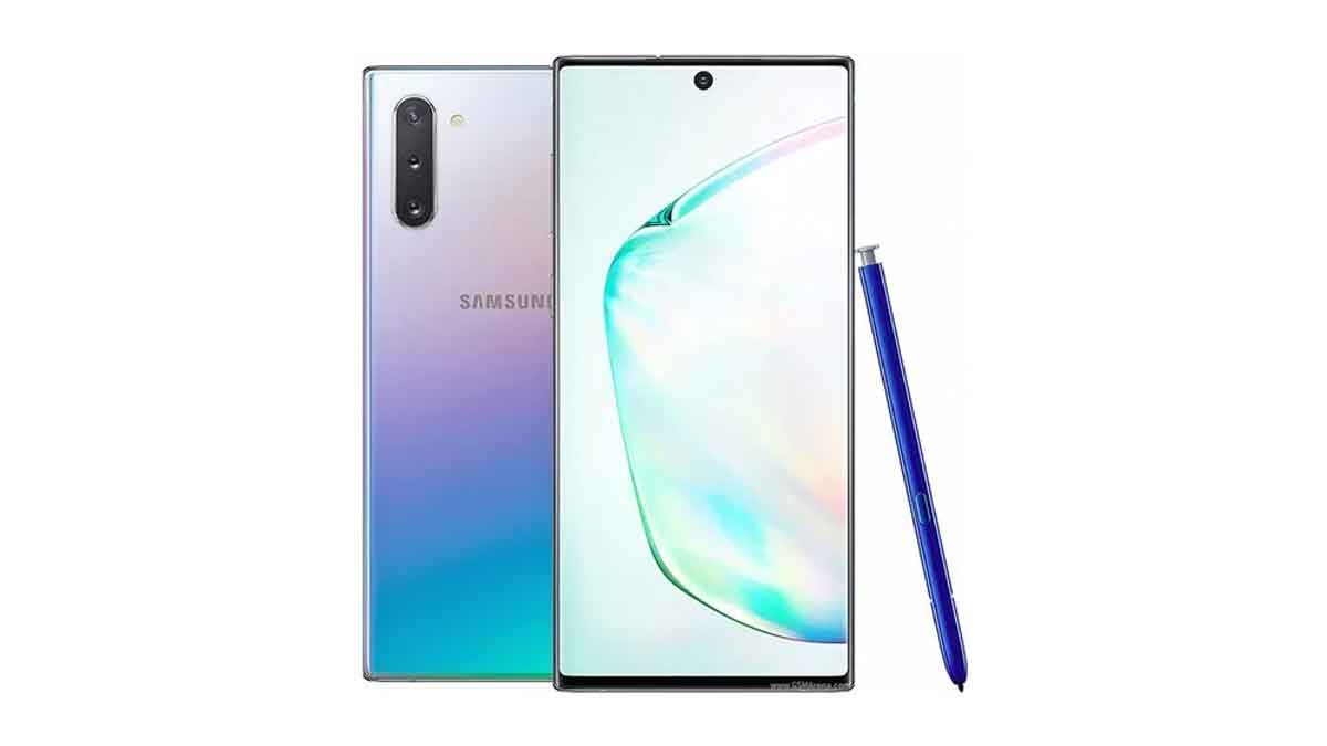 Galaxy note 10 launched