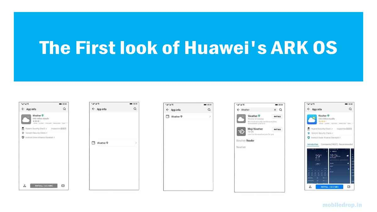 Huawei's ARK OS launched