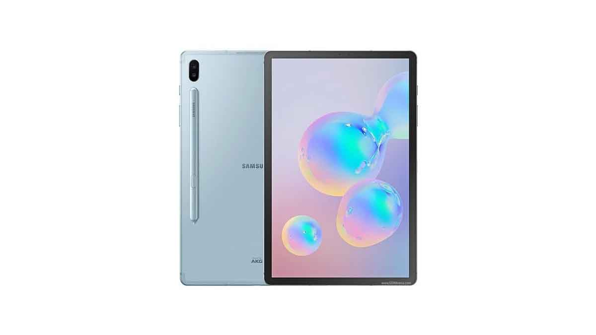 Galaxy Tab s6 launched