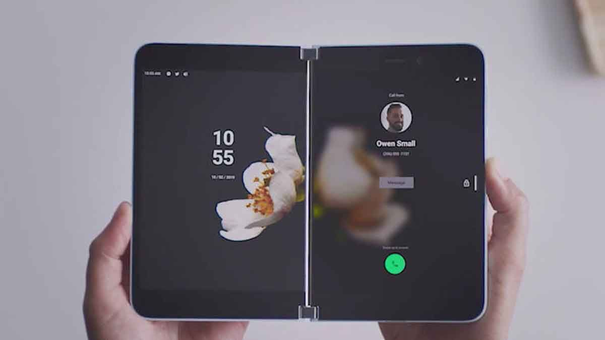 microsoft android foldable