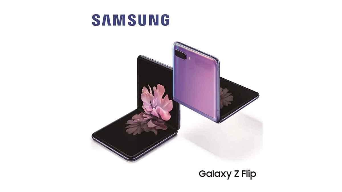 Galaxy Z Flip leaked