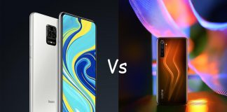 Realme 6 vs Redmi Note 9 pro