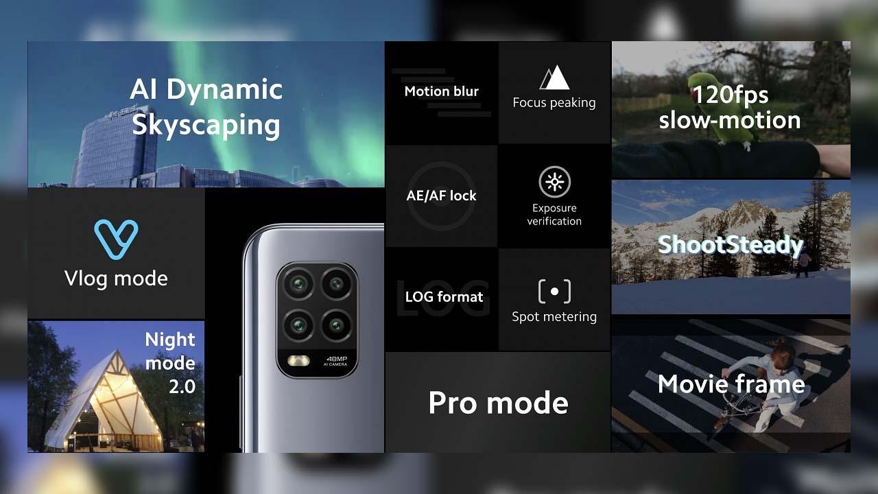 Xiaomi Mi 10 Lite launched