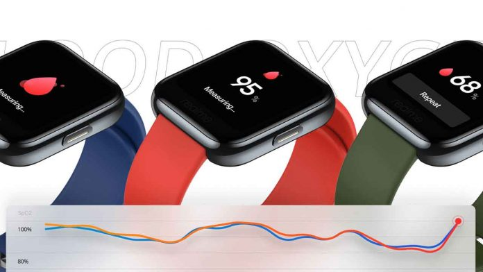 RealMe SmartWatch launched