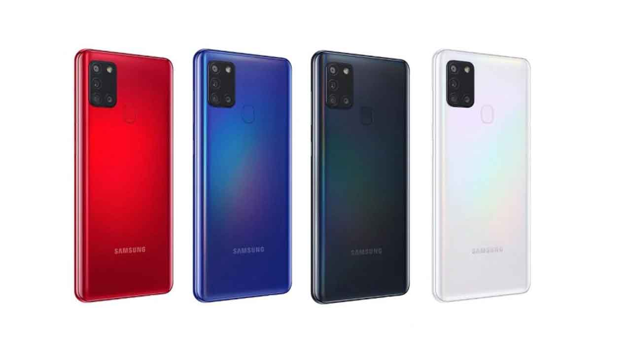Galaxy A21s launched