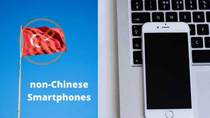 non-Chinese Smartphones