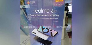 RealMe 6i India launch date