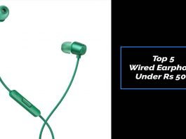 Top 5 Wired Earphone Under Rs 500
