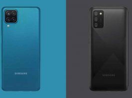 Galaxy A12 and Galaxy M02s Specifications