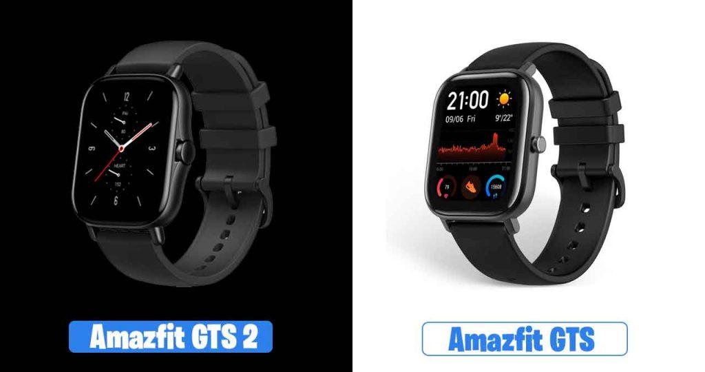 Amazfit GTS vs Amazfit GTS