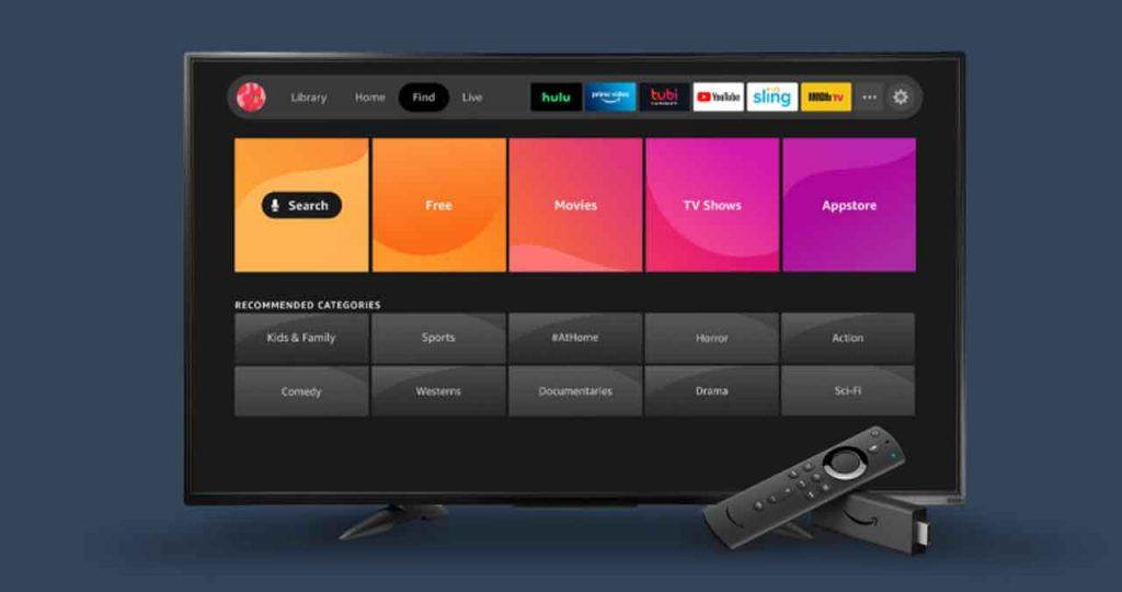 Fire TV gets New UI Interface