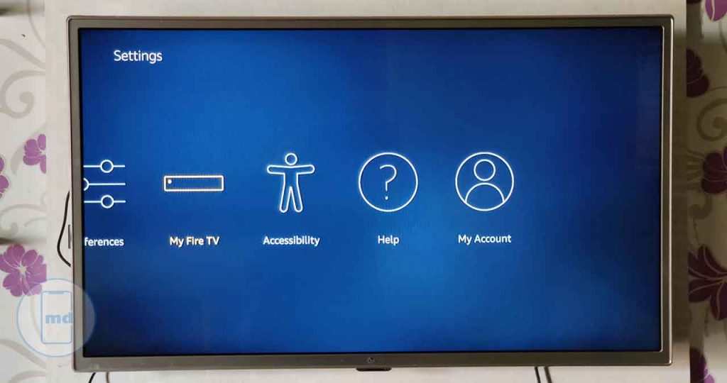 how to update Fire Stick TV