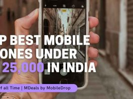 Mobile Phones Under Rs 25,000