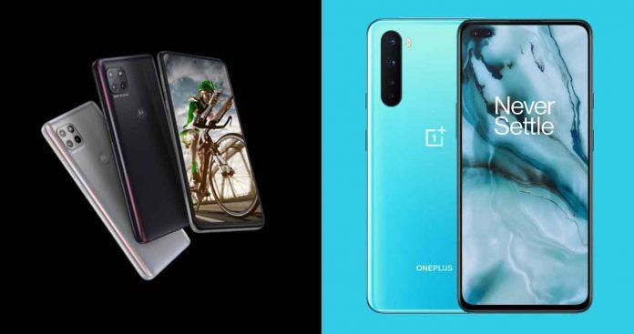 OnePlus Nord vs Motorola G 5G