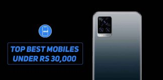 Top best mobiles under Rs 30,000