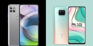 Moto G 5G and Mi 10i 5G